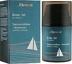 "Profumi e cosmetici Crema-gel viso ""Taurina + albero di Tara"" - _Element Men Cream For Face"