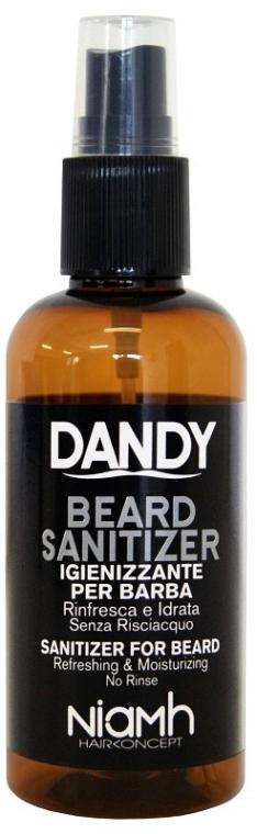 Spray disinfettante per barba e baffi - Niamh Hairconcept Dandy Beard Sanitizer Refreshing & Moisturizing