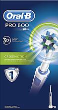 Profumi e cosmetici Spazzolino elettrico - Oral-B Pro 600 Cross Action