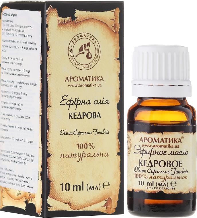 Olio essenziale di cedro - Aromatika