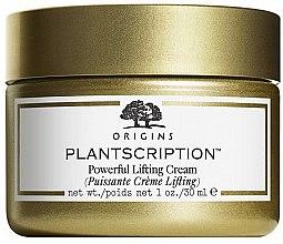 Profumi e cosmetici Crema viso intensiva con effetto lifting - Origins Plantscription Powerful Lifting Cream