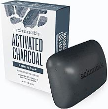 Profumi e cosmetici Sapone naturale - Schmidt's Naturals Bar Soap Activated Charcoal