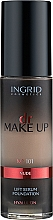 Profumi e cosmetici Fondotinta crema - Ingrid Cosmetics Lift Serum Foundation SPF8