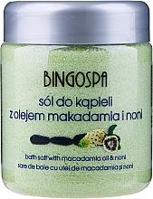 Sale da bagno, con estratto di Noni polinesiano - BingoSpa — foto N1