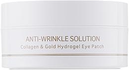 Profumi e cosmetici Patch contorno occhi, in idrogel al collagene e oro colloidale, misura standard - BeauuGreen Collagen & Gold Hydrogel Eye Patch