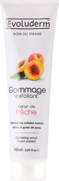 Scrub viso con estratto di albicocca - Evoluderm Soin du Visage Exfoliating Scrub Peach Extract