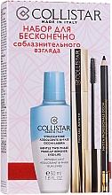 Profumi e cosmetici Set - Collistar Infinite Seduction (m/remover/50ml + mascara/11ml + eye/p/1.2g)