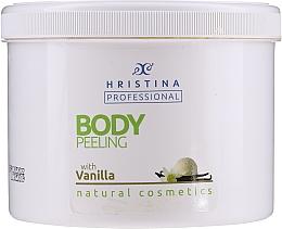 """Profumi e cosmetici Scrub corpo """"Vaniglia"""" - Hristina Professional Vanilla Body Peeling"""