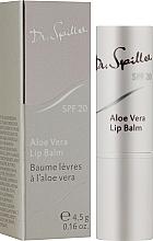 Profumi e cosmetici Balsamo labbra all'aloe vera - Dr. Spiller Aloe Vera Lip Balm