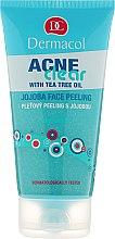 Profumi e cosmetici Peeling viso all'olio di jojoba - Dermacol Acne Clear Jojoba Face Peeling