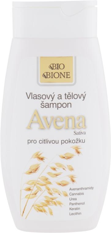 Shampoo per corpo e capelli - Bione Cosmetics Avena Sativa Hair and Body Shampoo — foto N1