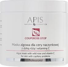 Profumi e cosmetici Maschera viso con estratto di rosa canina - APIS Professional Algae Mask