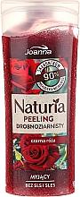 "Profumi e cosmetici Gel-peeling ""Rosa nera"" - Joanna Naturia Peeling"