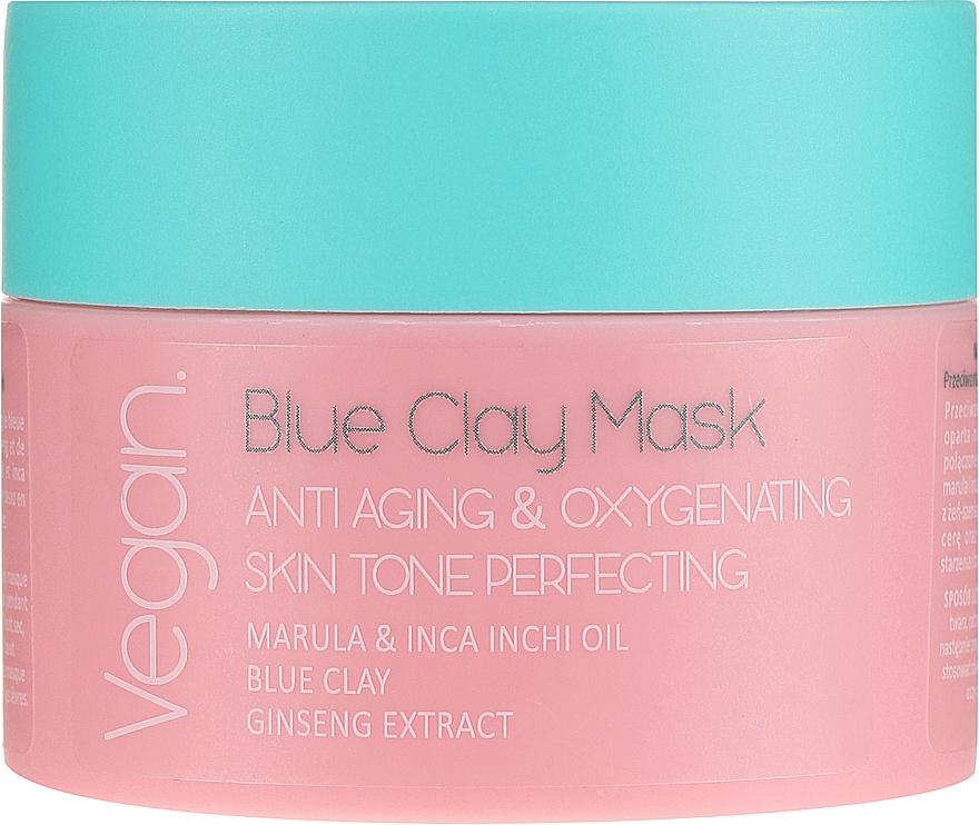 Maschera con argilla blu - Nacomi Blue Clay Mask Anti-Aging