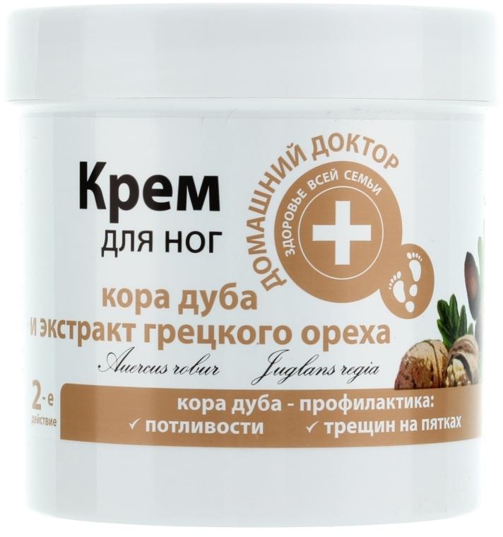 """Crema piedi con corteccia di quercia ed estratto di noce """"Prevenzione talloni screpolati"""" - Domashnyi Doctor"""