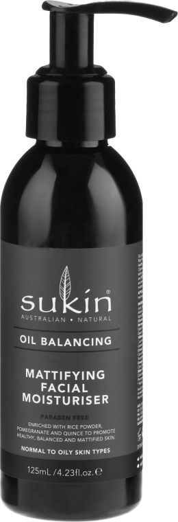 Crema viso idratante opacizzante - Sukin Oil Balancing Mattifying Facial Moisturiser