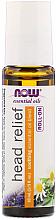 Profumi e cosmetici Olio per il mal di testa, roll-on - Now Foods Essential Oils Head Relief Roll-On