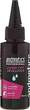 Profumi e cosmetici Ossidante 3% per ciglia e sopracciglia - Andmetics Liquid Tint Developer