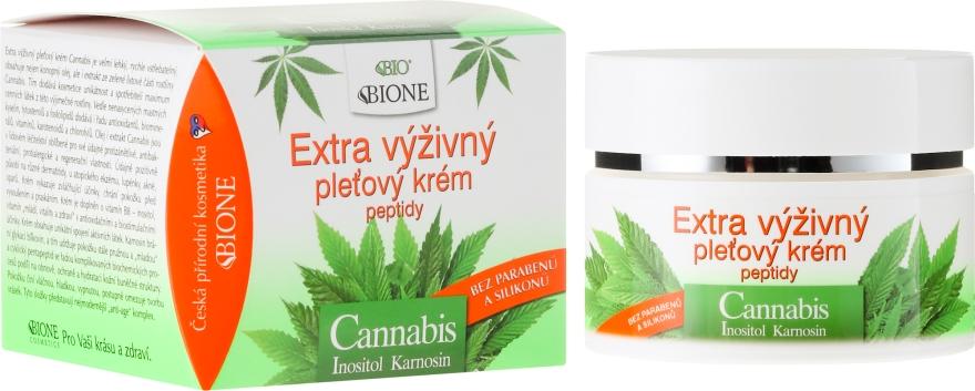 Crema nutriente viso - Bione Cosmetics Cannabis Extra Nourishing Face Cream