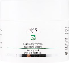 Profumi e cosmetici Maschera viso lenitiva - APIS Professional Exfoliation Soothing Mask After Acid Treatment