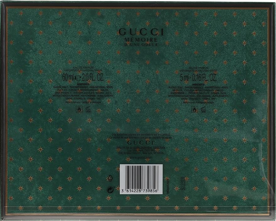 Gucci Memoire D'une Odeur - Set (edp/60ml + edp/5ml) — foto N2
