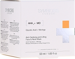 Profumi e cosmetici Maschera lifting antiossidante viso & collo - Symbiosis London Anti-oxidising And Lifting Face & Neck Mask