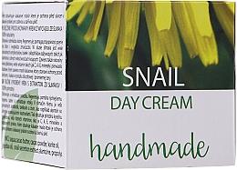 Profumi e cosmetici Crema viso giorno alla bava di lumaca - Hristina Cosmetics Handmade Snail Day Cream