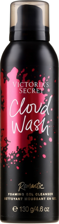 Gel detergente - Victoria's Secret Cloud Wash Romantic Foaming Gel Cleanser — foto N1