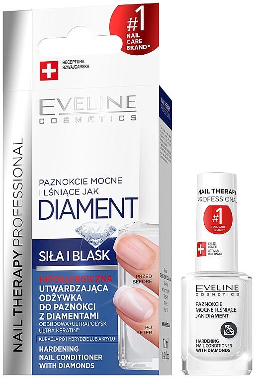 Complesso brillante per il ripristino delle unghie - Eveline Cosmetics Nail Therapy Professional