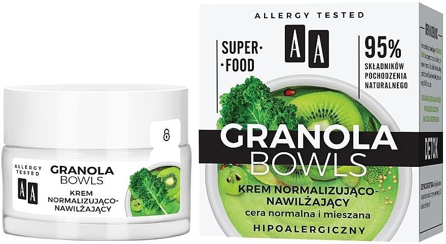 Crema detossinante normalizzante e idratante - AA Granola Bowls