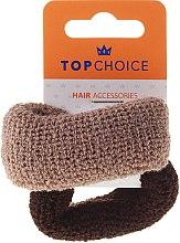 Profumi e cosmetici Elastici per capelli, marrone mix - Top Choice