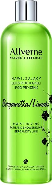"""Crema bagno e doccia """"Bergamotto e Lime"""" - Allverne Nature's Essences Cream Bath and Shower"""