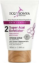 Profumi e cosmetici Esfoliante viso - Eco by Sonya Super Acai Exfoliator