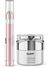 Set - Klapp CollaGen Face Care Set Sommer (f/emulsion/15ml + f/cr/15ml) — foto N2
