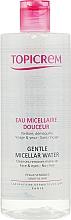 Profumi e cosmetici Acqua micellare struccante - Topicrem Gentle Micellar Water Face & Eyes