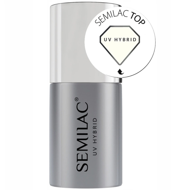 Top Coat - Semilac UV Hybrid