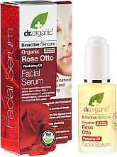 "Profumi e cosmetici Siero viso ""Rosa"" - Dr. Organic Rose Facial Serum"
