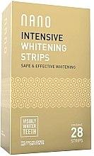 Profumi e cosmetici Strisce dentali sbiancanti - WhiteWash Nano Intensive Whitening Strips