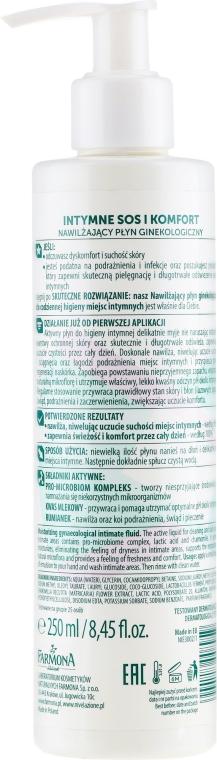 Fluido detergente intimo - Farmona Nivelazione Moisturizing Gynaecological Intimate Fluid — foto N2