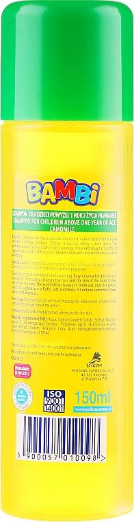 Shampoo alla camomilla per bambini - Pollena Savona Bambi Chamomile Shampoo — foto N2