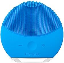 Profumi e cosmetici Spazzola per pulizia e massaggio termale con funzione di controllo dell'intensità - Foreo Luna Mini 2 Aquamarine