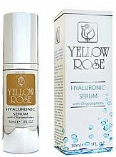 Profumi e cosmetici Siero all'acido ialuronico - Yellow Rose Hyaluronic Serum With Oligopeptides