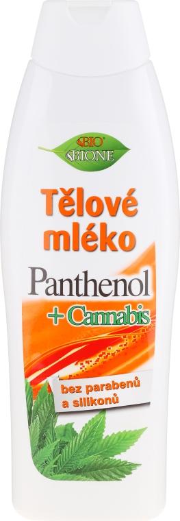 Lozione corpo - Bione Cosmetics Pantenol + Cannabis Body Lotion