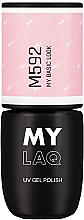 Profumi e cosmetici Gel ibrido - MylaQ UV Gel Polish
