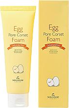 Profumi e cosmetici Schiuma detergente viso con estratto d'uovo - The Skin House Egg Pore Corset Foam Cleaner