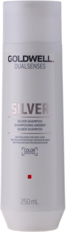 Shampoo correttivo per capelli grigi e biondi - Goldwell Dualsenses Silver