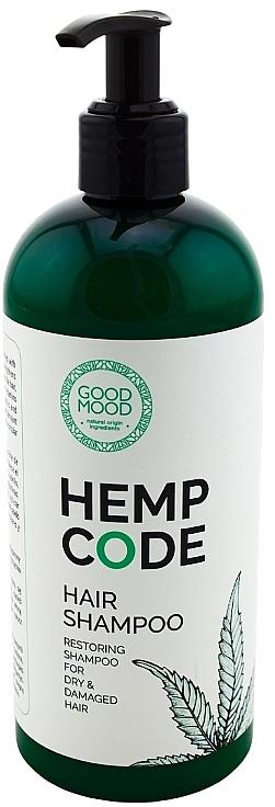 Shampoo rigenerante all'olio di canapa - Good Mood Hemp Code Hair Shampoo — foto N1