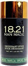 Profumi e cosmetici Deodorante corpo - 18.21 Man Made Deodorant Stick Spiced Vanilla