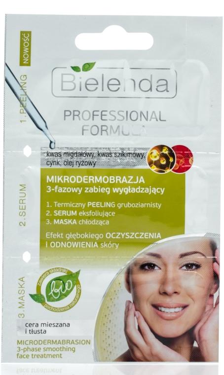 Trattamento viso, trifasico levigante con effetto di microdermoabrasione - Bielenda Professional Formula