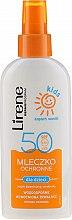 Profumi e cosmetici Latte-spray solare SPF 50 - Lirene Kids Sun Protection Milk Spray SPF 50